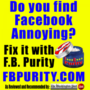 FB Purity - Clean up Facebook